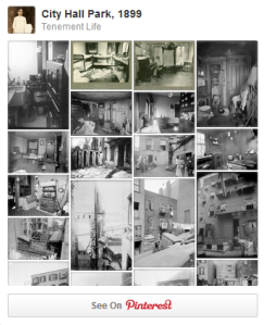 Tenement Life at Pinterest.com
